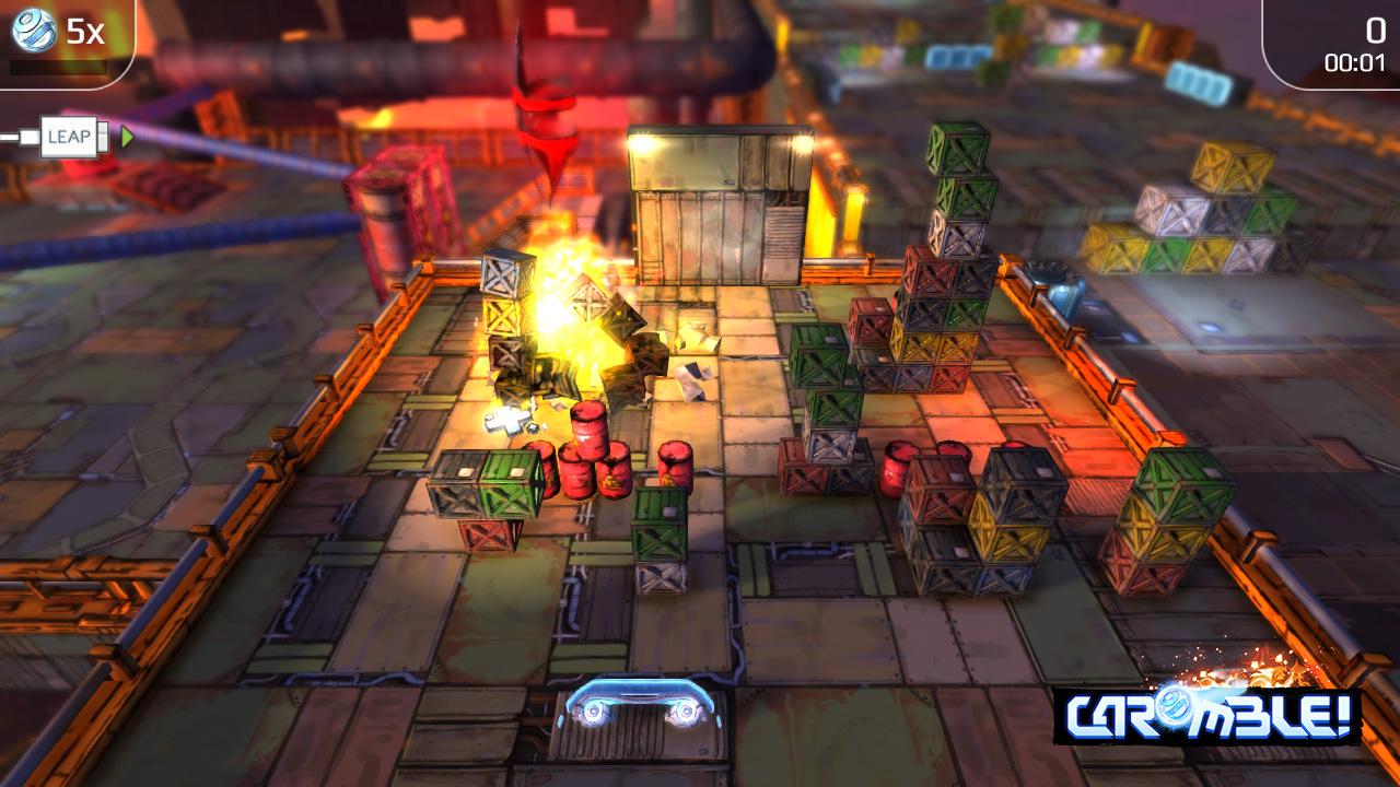 Caromble Game Effect Screenshot 1