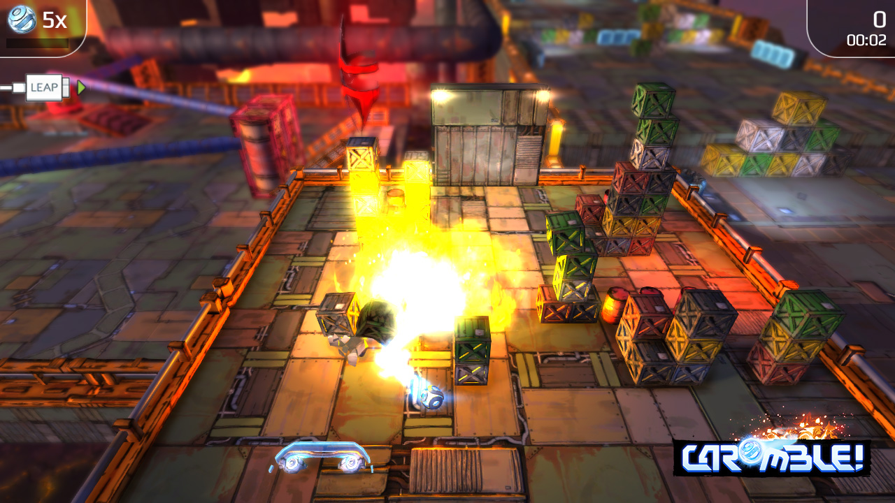 Caromble Game Effect Screenshot 2