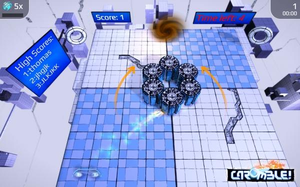 Caromble Game Screenshot